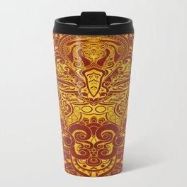 Balinese abstract art Travel Mug