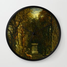"John Constable ""Cenotaph to the Memory of Sir Joshua Reynolds"" Wall Clock"