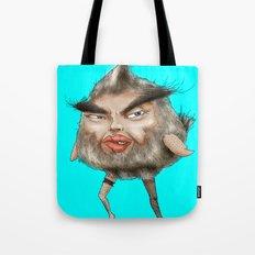 ugly angry angry man bird Tote Bag
