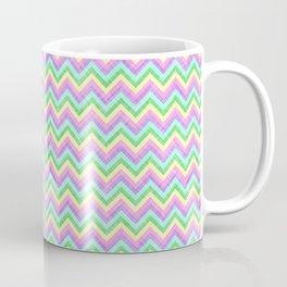 Pastel Chevron Pattern Coffee Mug