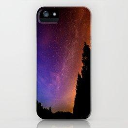 Jewel Tone Starry Night iPhone Case