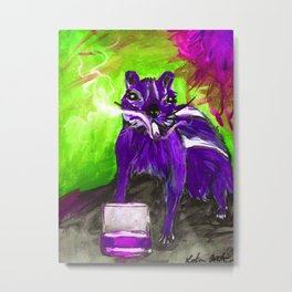 Get it together, Carl (in Purple) Metal Print