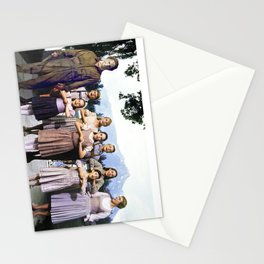 Michael Myers in The Sound of Music Stationery Cards
