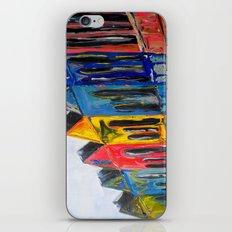 Rainbow Row iPhone & iPod Skin