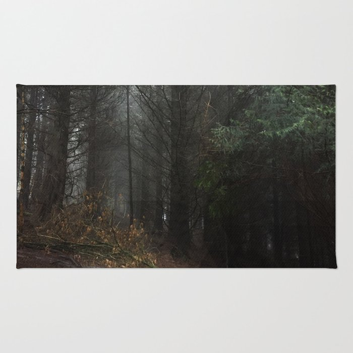 Pixelated Forest Rug