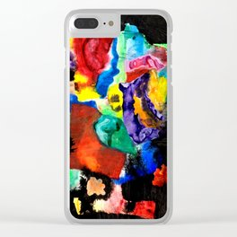 CATHEDRAL WINDOW  - ABSTRACT Clear iPhone Case