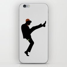 The 11th Doctor of Silly Walks iPhone & iPod Skin