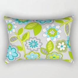 FLOWER DOODLES 1 Rectangular Pillow