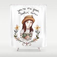 Good Lookin' Dame Shower Curtain