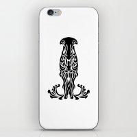 aquarius iPhone & iPod Skins featuring Aquarius by Mario Sayavedra