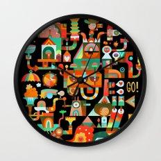 The Chipper Widget (Remix) Wall Clock