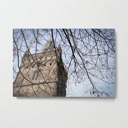 Powder Tower Detail (Prague) Metal Print