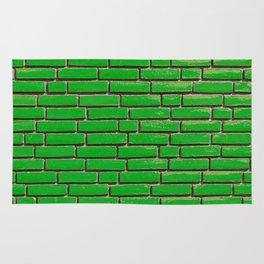 Brick wall 2 Rug