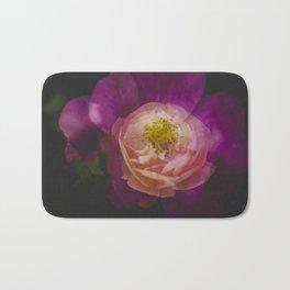 Roses (double exposure version) Bath Mat