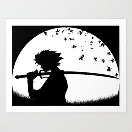 Mugen - Samurai Champloo Art Print