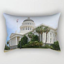 California State Capitol Rectangular Pillow