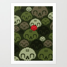 Jungle Camo Art Print