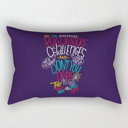Roadblocks & Challenges Rectangular Pillow