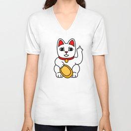 Fucky cat Unisex V-Neck