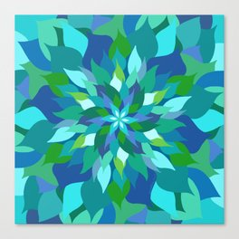 Healing Leaves Canvas Print