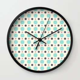 Dots (planets) Wall Clock