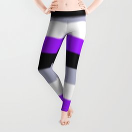 Asexual Pride Flag v2 Leggings