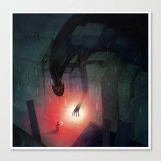 Shadow Friend Canvas Print