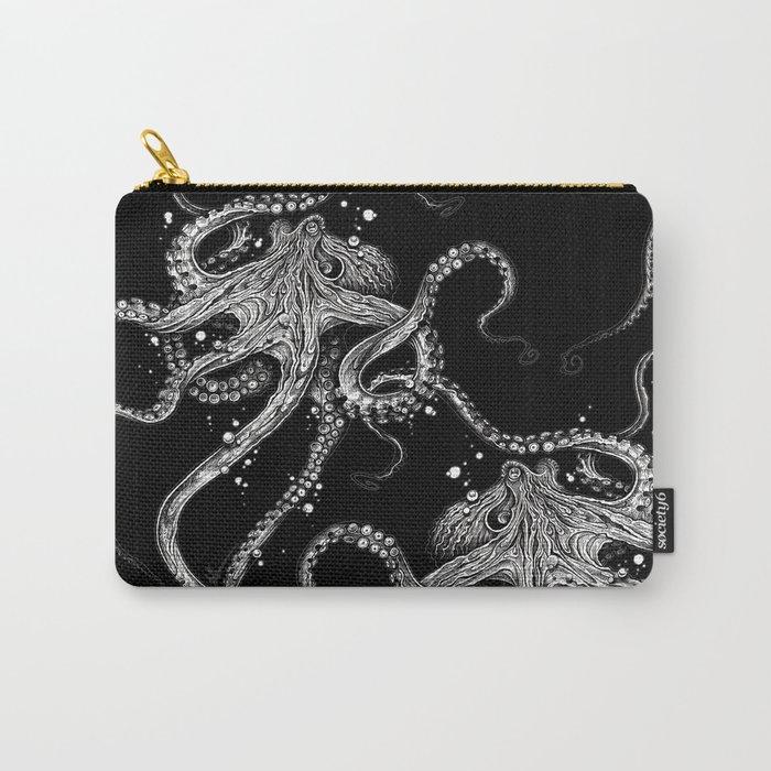 Octopus (black) Tasche