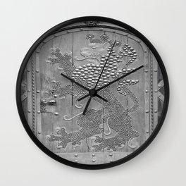 An Old Door Wall Clock