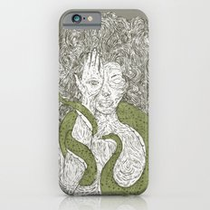 Snake and Sprite: Green Slim Case iPhone 6s