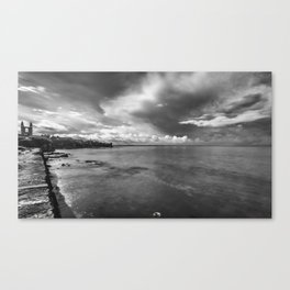 Clouds over St Andrews Canvas Print