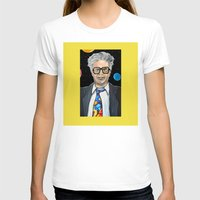 snl T-shirts featuring Will Ferrell as Harry Caray SNL by Portraits on the Periphery