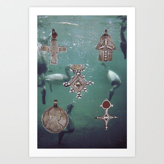 Collage #26 Art Print