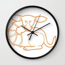 Medieval Cutie Wall Clock