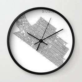 Bushwick, NY Wall Clock