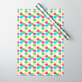 15 Hexagon Arrangement Wrapping Paper