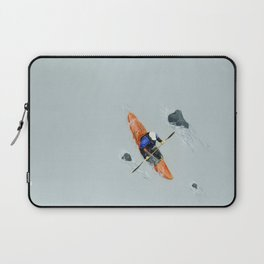 Solitude- Kayaker Laptop Sleeve
