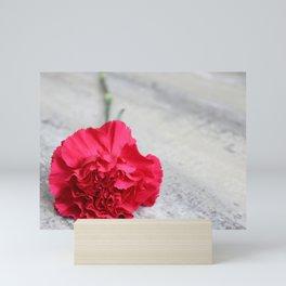 1 Pink Carnation Mini Art Print