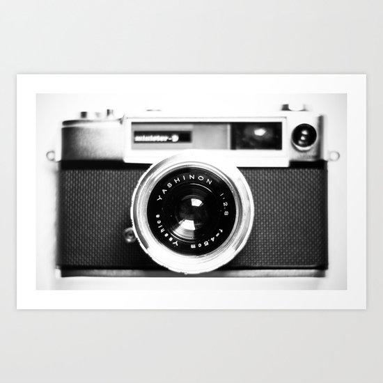 Camera Vintage Art Print