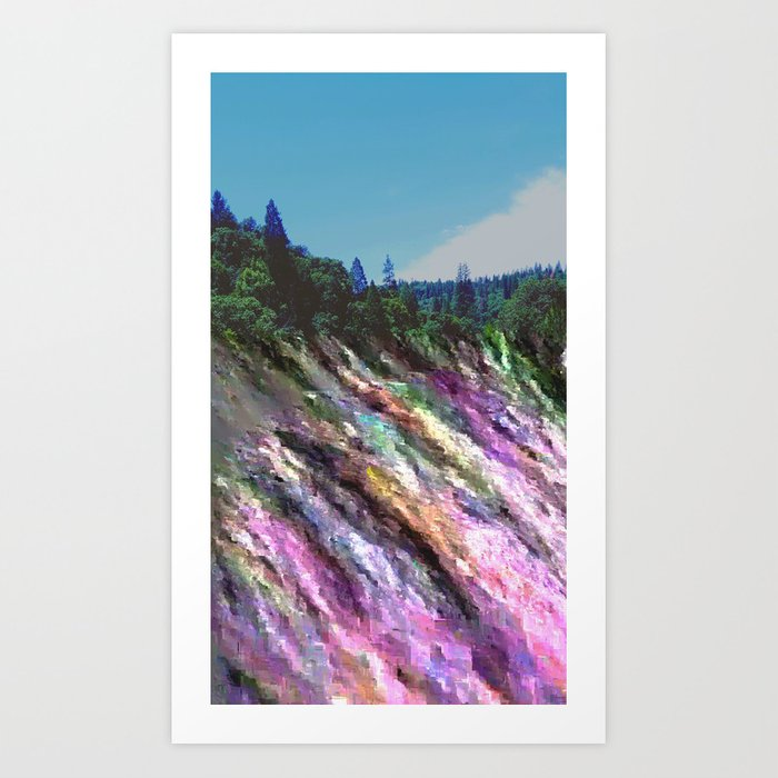 Happily Stranded Art Print
