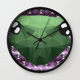 Ribbit Wall Clock