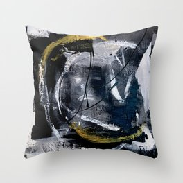 Devil Inside Throw Pillow