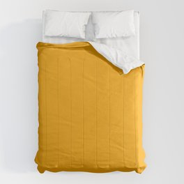 Dark yellow Comforters