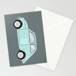 Blue June Bug Stationery Cards