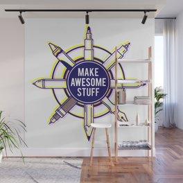 Make awesome stuff Wall Mural