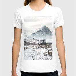 on the road in iceland T-shirt