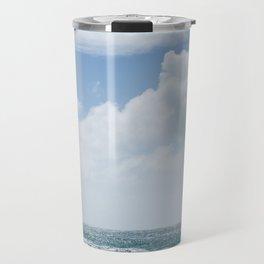Summer Beach, Cornwall Travel Mug