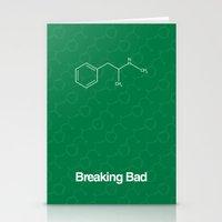 breaking Stationery Cards featuring Breaking Bad by Karolis Butenas