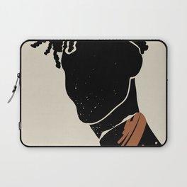Black Hair No. 2 Laptop Sleeve