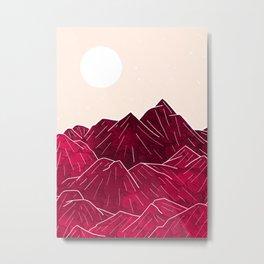 Ruby Mountains Metal Print